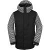 Volcom Men's 17Forty Insulated Jacket - Medium - Black Stripe