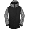 Volcom Men's 17Forty Insulated Jacket - Small - Black Stripe