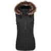 Volcom Women's Longhorn Vest - Medium - Black