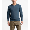 The North Face Men's TNF Terry LS Henley - Small - Shady Blue