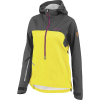 Louis Garneau Women's 4 Seasons Hoodie Jacket - Large - Grey / Yellow