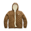 The North Face Men's Cuchillo Insulated 2.0 Full Zip Hoodie - XL - Cedar Brown