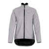Sugoi Women's Zap Bike Jacket - Large - Light Grey Zap