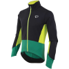 Pearl Izumi Men's ELITE Pursuit Softshell Jacket - Medium - Black / Pepper Green