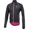 Pearl Izumi Men's ELITE Barrier Convertible Jacket - XXL - Black / Screaming Pink