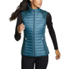 Eddie Bauer Motion Women's Ignitelite Hybrid Vest - Medium - Light Nordic Blue