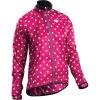 Sugoi Women's RS Jacket - XS - Sangria / Pale Vista Dot