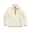 The North Face Men's Dunraven Sherpa 1/4 Zip Top - Small - Vintage White/British Khaki