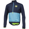 Pearl Izumi Men's SELECT Barrier Pullover - Small - Eclipse Blue / Blue Mist
