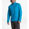 The North Face Men's Canyonlands 1/2 Zip Top - Medium - Acoustic Blue