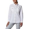 Columbia Women's Bahama LS Shirt - 2X - White