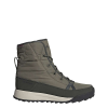 Adidas Women's Terrex Choleah Padded CP Boot - 7.5 - Raw Khaki / Legend Earth / Semi Coral