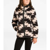 The North Face Girls' Campshire Full Zip - Large - Peyote Beige California Basket Print