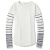 Smartwool Women's Shadow Pine Crew Sweater - Small - Ash Heather