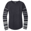 Smartwool Women's Shadow Pine Crew Sweater - Large - Charcoal Heather