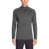 Eddie Bauer Motion Men's Resolution 1/4 Zip - Small - Charcoal Heather