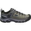 Keen Men's Targhee III Waterproof Shoe - 7.5 - Steel Grey / Captains Blue