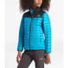 The North Face Girls' ThermoBall Eco Jacket - Small - Turquoise Blue