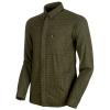 Mammut Men's Winter LS Shirt - Large - Iguana / Dark Iguana
