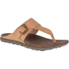 Merrell Women's Around Town Luxe Post Sandal - 10 - Natural Tan