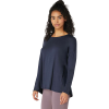Beyond Yoga Women's Draw The Line Tie Back Pullover - Large - Nocturnal Navy