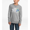 The North Face Youth Recycled Materials Crew - Medium - TNF Medium Grey Heather