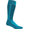 Icebreaker Women's Ski+ Medium Over The Calf Sock - Small - Arctic Teal / Midnight Navy
