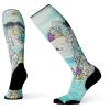 Smartwool PhD Ski Light Elite Pow Days Printed Sock - Medium - Multi Color