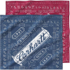 Carhartt Men's Work Bandana 2 Pack - One Size - Assorted