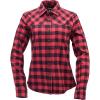 Black Diamond Women's Spotter LS Flannel Shirt - XL - Ink Blue / Wild Rose Plaid
