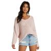 Billabong Women's Higher Ground Sweater - Large - Primrose