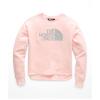 The North Face Girls' Logowear Crop Crew - Medium - Pink Salt