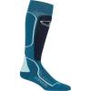 Icebreaker Women's Ski+ Medium Over the Calf Sock - Large - Kingfisher / Midnight Navy / Dew
