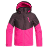 Roxy Girls' Frozen Flow Jacket - 10/M - Beetroot Pink