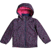 Roxy Toddlers' Mini Jetty Jacket - 4-5 - Medieval Blue/Sweet Marguerite