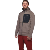 Black Diamond Men's Factor Fleece Hoody - XL - Walnut / Black