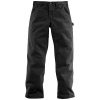 Carhartt Men's Washed Twill Dungaree Pant - 44x32 - Black