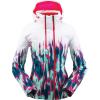 Spyder Women's Inspire GTX Jacket - 8 - Ikat Print Swell