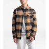 The North Face Men's Stayside Chamois LS Shirt - Large - Cedar Brown Stayin Plaid