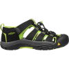 Keen Youth Newport H2 Shoe - 6 - Black / Lime Green