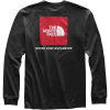 The North Face Men's Red Box LS Tee - XXL - TNF Black