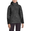 Eddie Bauer Women's Powder Search 2.0 3-in1 Jacket - Large - Dark Smoke
