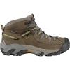 Keen Men's Targhee II Mid Waterproof Shoe - 7.5 - Black Olive / Yellow