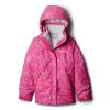 Columbia Youth Girls Bugaboo II Fleece Interchange Jacket - Small - Pink Ice Floral