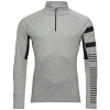 Rossignol Men's Poursuite 1/2 Top - Large - Heather Grey