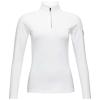 Rossignol Women's Classique 1/2 Zip Top - Small - White