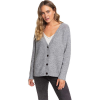 Roxy Women's Be Bold Cardigan - Small - Heritage Heather