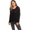 Roxy Women's Lovely Soul Sweater - Medium - True Black
