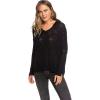 Roxy Women's Lovely Soul Sweater - Large - True Black