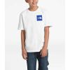 The North Face Boys' Graphic SS Tee - Large - TNF White